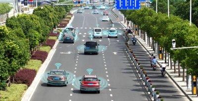 Trung Quốc xây làn đường dành cho xe tự lái a4