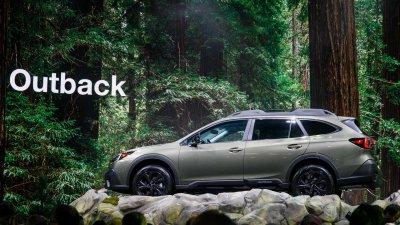 Một số hình ảnh của Subaru Outback 2020 tại New York 2019 - Ảnh 3.