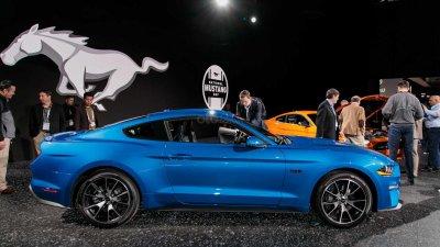 [New York 2019] Ford Mustang mạnh mẽ, nâng tầm cao mới