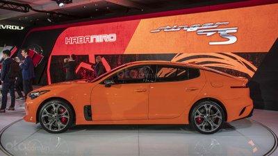 [New York 2019] Kia Stinger GTS 2020 hấp dẫn