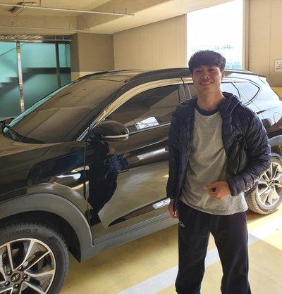 Công Phượng vừa nhận được một chiếc Hyundai Tucson