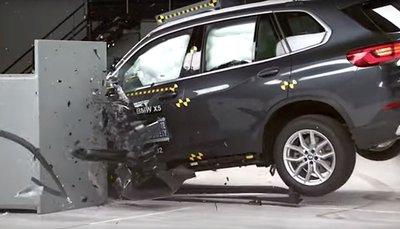 BMW X5 2019 sắp về Việt Nam được đánh giá an toàn tối đa 5
