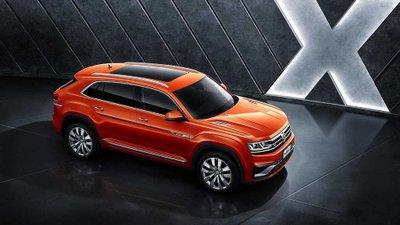 SUV Volkswagen Atlas thêm bản coupe Teramount X tại Trung Quốc 9