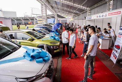 Hội chợ Oto.com.vn chính thức khai mạc ngày 20/04/2019...