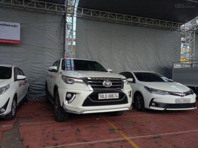 Ảnh Toyota Fortuner tại Hội chợ Oto.com.vn 2019