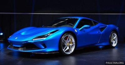 """Ferrari F8 Tributo ra mắt thị trường Đông Nam Á , sức mạnh rất """"trâu bò"""""""