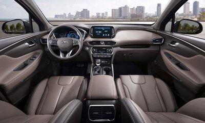 Hyundai Santa Fe góp mặt trong Top 10 xe có nội thất tốt nhất năm 2019sg