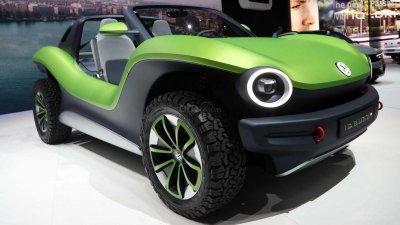 [New York 2019] Volkswagen I.D. Buggy - Hậu duệ của 'Con bọ' Beetle