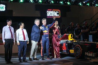 Khởi động F1 Việt Nam Grand Prix