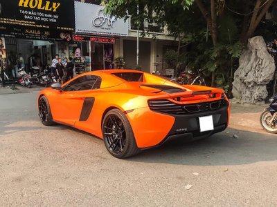 McLaren 650S Spider biển Sài Gòn bất ngờ xuất hiện tại Hà Nội, rất giống của Minh Nhựa3a