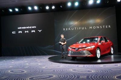 Toyota Camry 2019 chính thức ra mắt, vẫn chưa có giá niêm yết a1