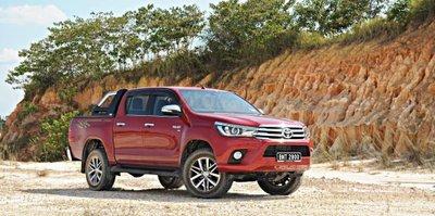 Toyota Hilux tại Thái Lan...