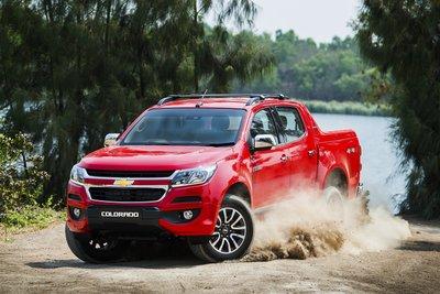 Chevrolet Colorado là một trong những mẫu bán tải có sức bán ổn định hơn cả tại nước ta