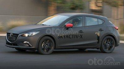 Xe Động cơ Skyactiv-X của Mazda chạy thử