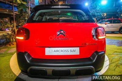 SUV Citroen C3 Aircross không gian đầy đủ tiện nghi