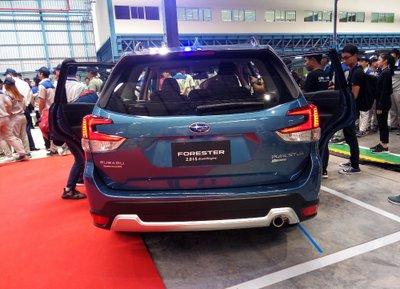 Subaru Forester 2019 về tới Việt Nam, rẻ hơn phiên bản cũ a5.