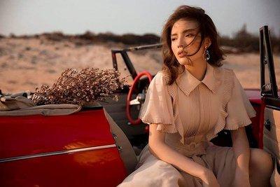 Người mẫu Minh Triệu và Hoa hậu Kỳ Duyên khoe sắc bên Datsun 1600 cổ điển - Ảnh 9.