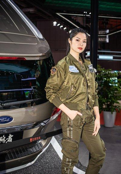 Ngẩn ngơ với dàn chân dài tại Triển lãm Ô tô Thượng Hải 2019 - Ảnh 3.