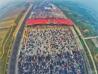 Tắc đường kinh hoàng ở Bắc Kinh - Hồng Kông - Macau.