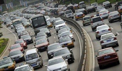 Tắc đường kinh hoàng ở Bắc Kinh - Tây Tạng.