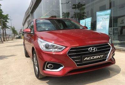 Mức giá chính xác của Hyundai Accent 2019 sau khi thêm trang bị mới.