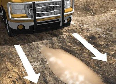 Mẹo thoát khỏi bùn lầy khi ô tô bị mắc kẹt 6