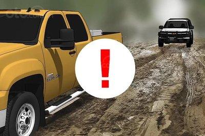 Mẹo thoát khỏi bùn lầy khi ô tô bị mắc kẹt 9