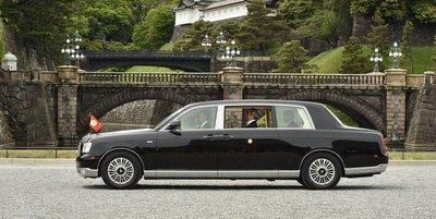 Hình ảnh Toyota Century phục vụ gia đình Thái tử Naruhito 5