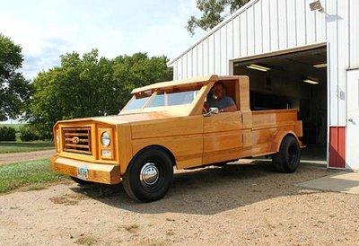 bán tải bọc gỗ