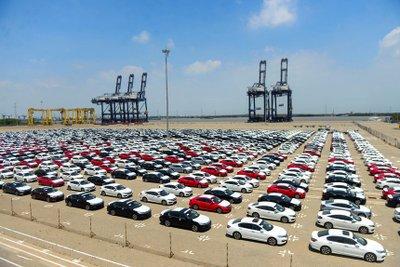 Việt Nam đã chi khoảng 256 triệu USD để nhập khẩu ô tô trong tháng 4 vừa qua