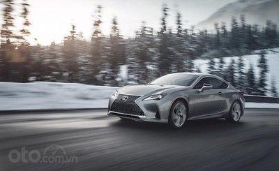 Top 10 mẫu Coupe AWD tốt nhất - Lexus RC AWD tiếp bước