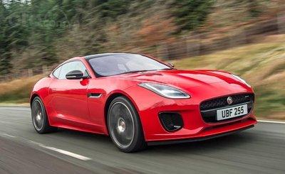 Top 10 mẫu Coupe AWD tốt nhất - Jaguar F-Type lướt nhanh