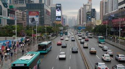 Giao thông tại Thâm Quyến (Trung Quốc)...