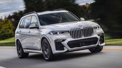 BMW X7 2019 màu trắng