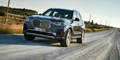 BMW X7 2019 màu ghi bạc