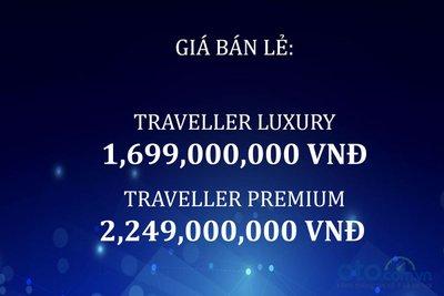Giá bán của Peugeot Traveller tại Việt Nam.