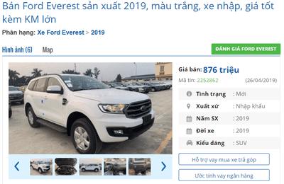 Chống ế, đại lý bán phá giá Ford Everest 2019? a2