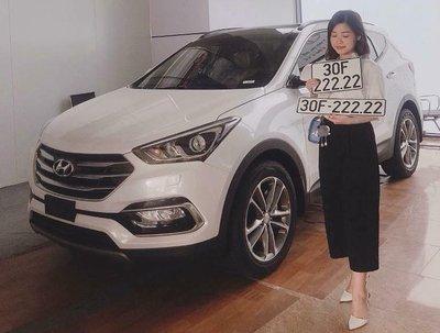 """Hyundai Santa Fe - Dòng xe giúp nhiều người đổi đời nhờ """"có duyên"""" với biển số siêu đẹp a4"""