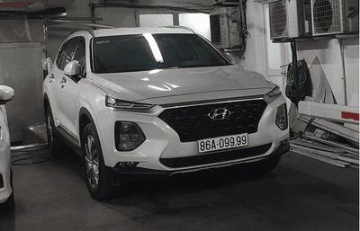 """Hyundai Santa Fe - Dòng xe giúp nhiều người đổi đời nhờ """"có duyên"""" với biển số siêu đẹp a2"""