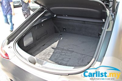 Mercedes-AMG GT coupe có khoang hành lý rộng