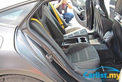 Mercedes-AMG GT coupe 4 cửa sở hữu nội thất ấn tượng