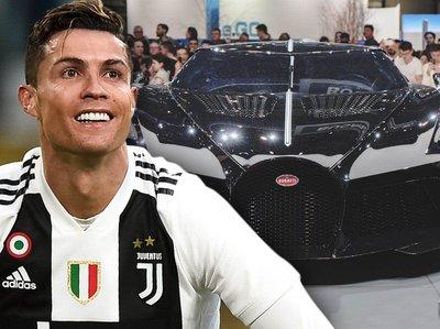 Cristiano Ronaldo đáp trả thông tin mua siêu xe đắt nhất thế giới