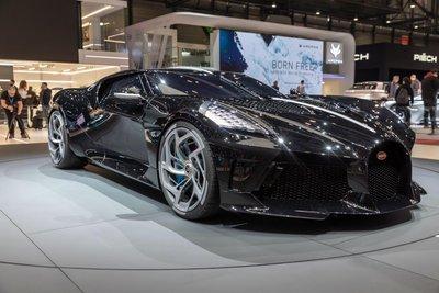 Bugatti La Voiture Noire ra mắt hồi tháng 3