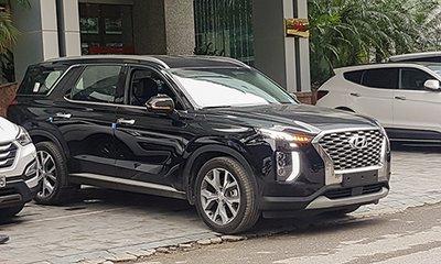Hyundai Palisade 2019 sẽ sớm trình diện khách Việt