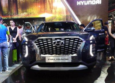 Một vài hình ảnh của Hyundai Palisade 2019 tại thị trường Philippines.