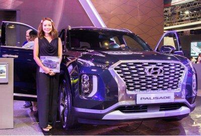 Một vài hình ảnh của Hyundai Palisade 2019 tại thị trường Philippines - Ảnh 1.