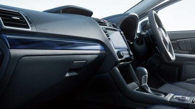 Subaru Levorg STI Sport nâng tầm nội thất