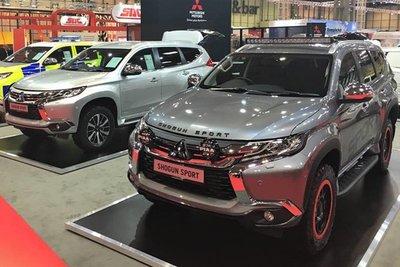Lộ diện Mitsubishi Pajero Sport bản cực chất mới a8.