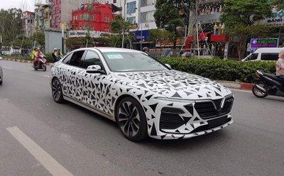 Nhìn lại loạt ảnh xe ô tô VinFast chạy thử tại Việt Nam a5
