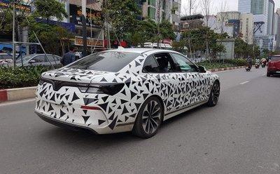 Nhìn lại loạt ảnh xe ô tô VinFast chạy thử tại Việt Nam a6